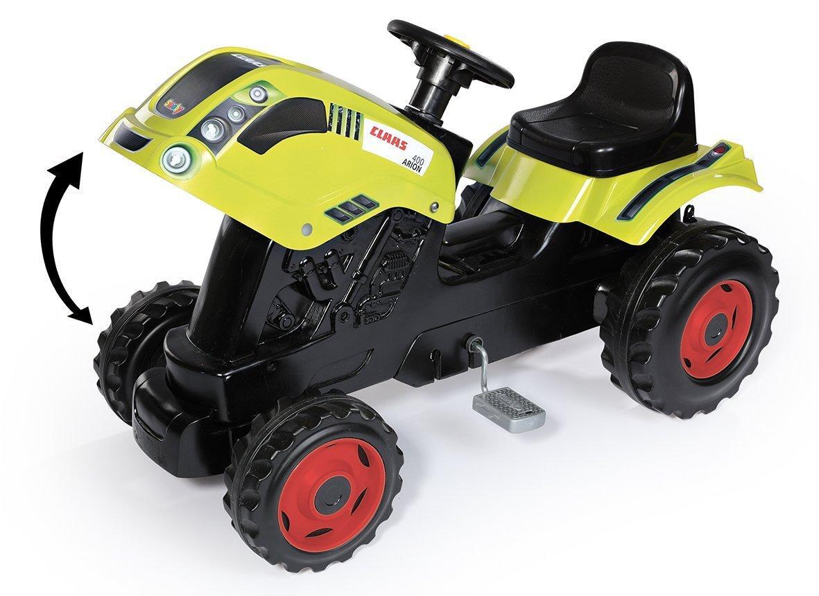 SMOBY 710107 šlapací traktor CLASS GM