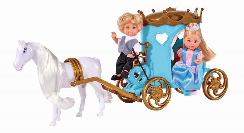 Simba Panenka Evička a Timmy s kočárem