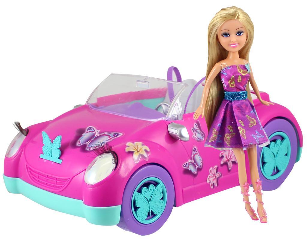 Alltoys Motýlí panenka Sparkle Girlz se stylovým autem