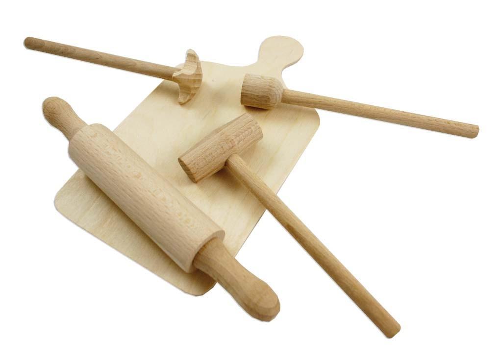 Rappa sada kuchyňka malá dřevěná