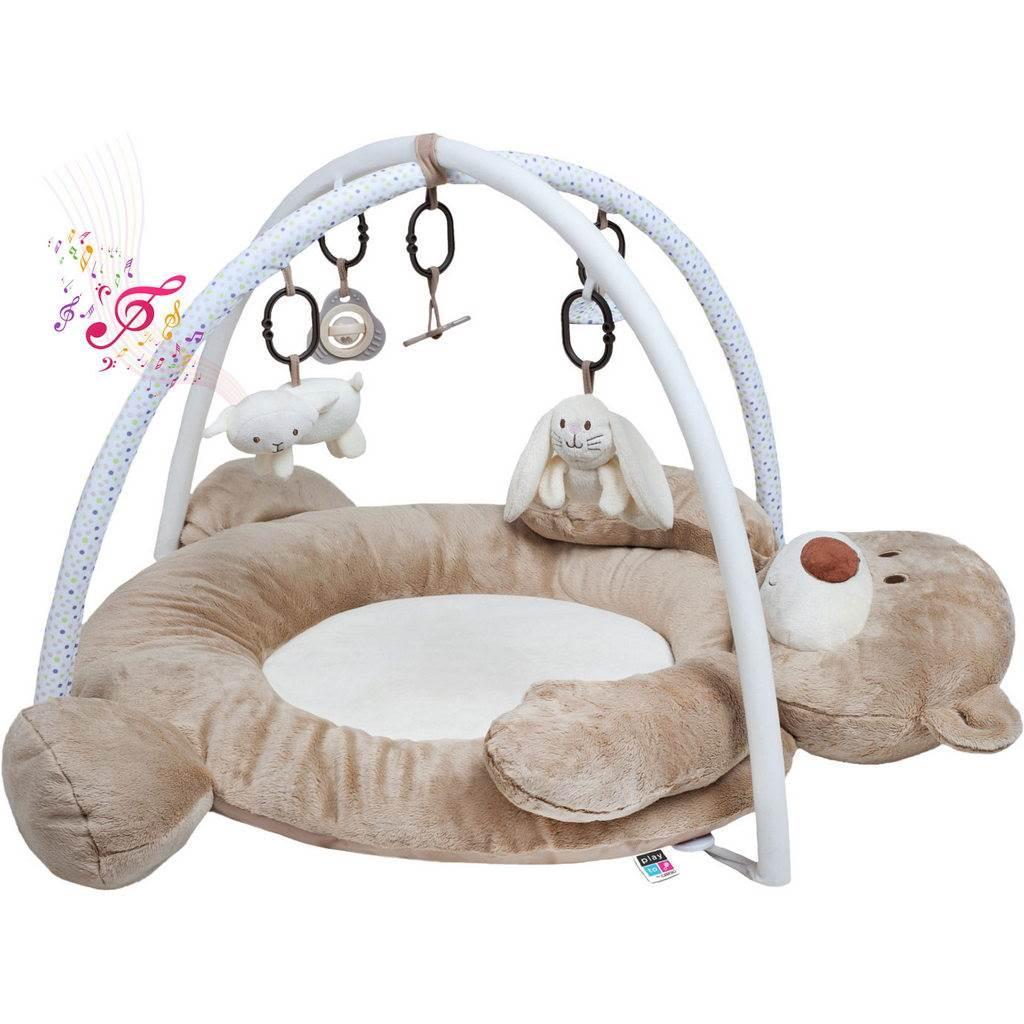 PlayTo hrací deka z minky s melodií medvídek