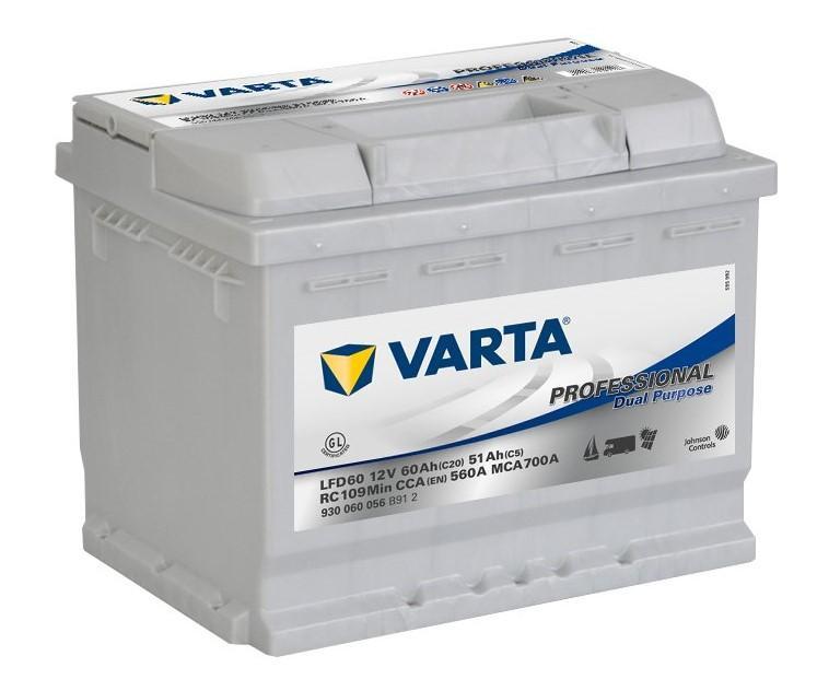 Varta Professional 12V 60Ah 560A 930 060 056