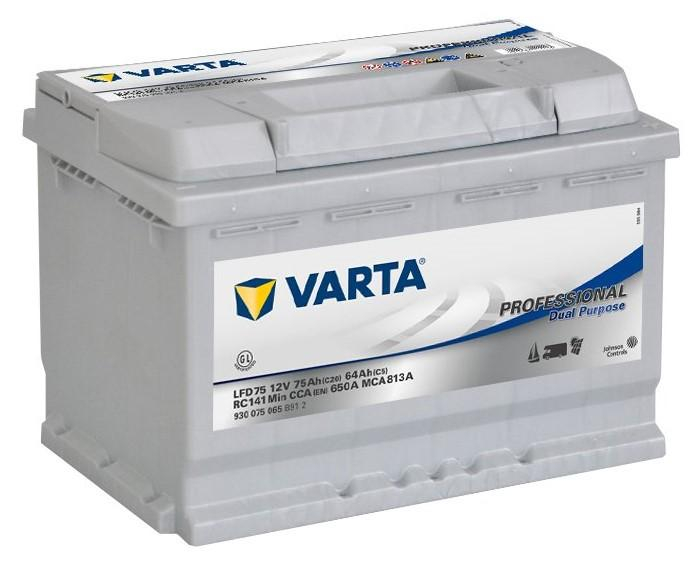 Varta Professional 12V 75Ah 650A 930 075 065