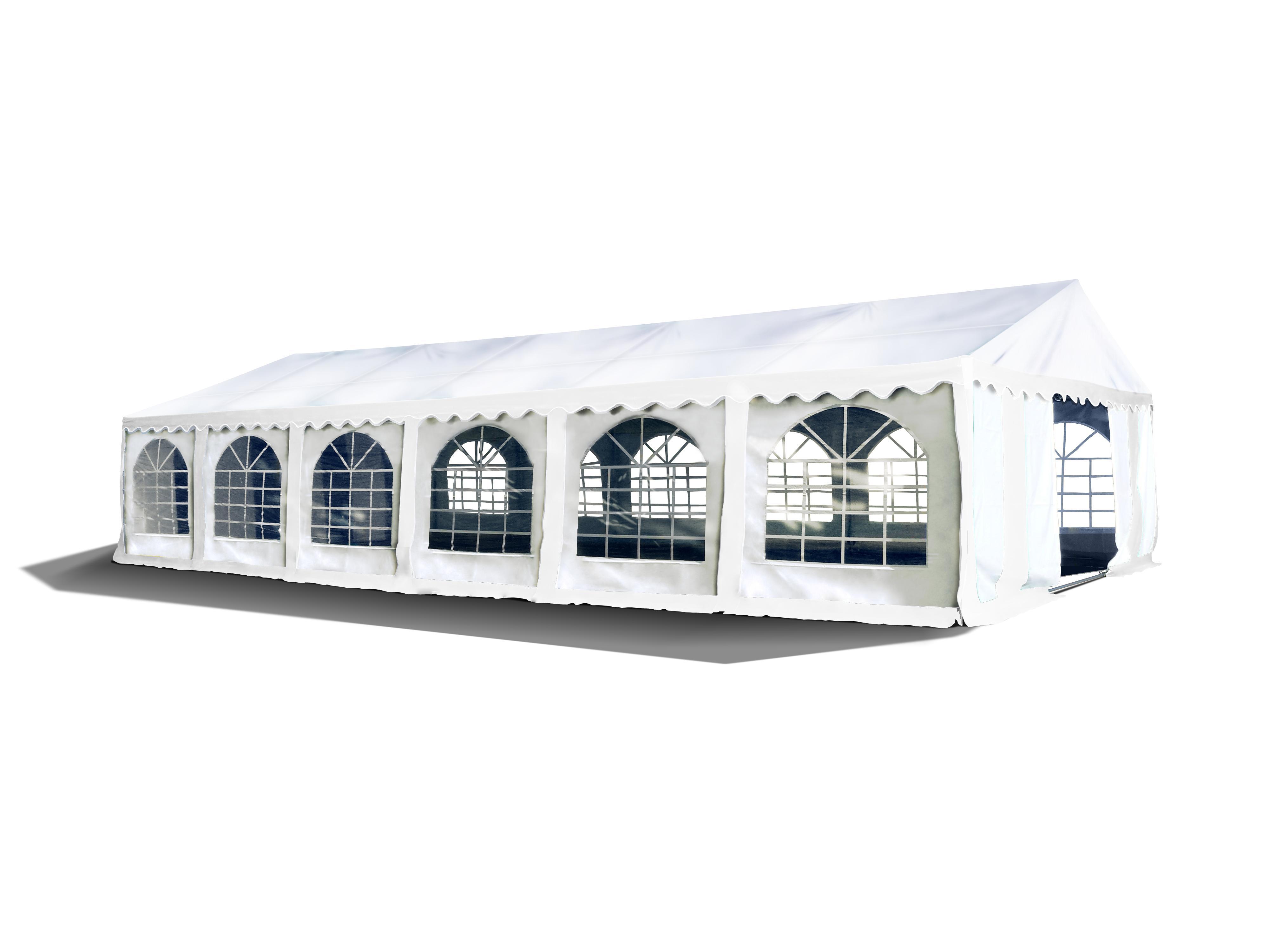 Hawaj Párty stan Premium Ohnivzdorný 6 x 12 m bílý
